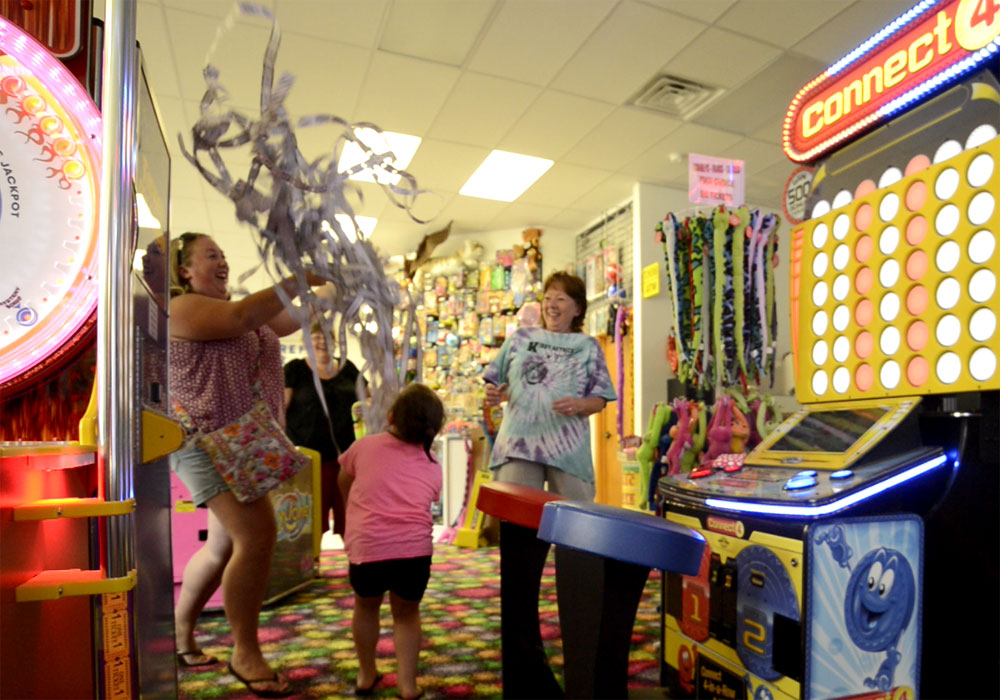 Guest Wins A Lot of Tickets