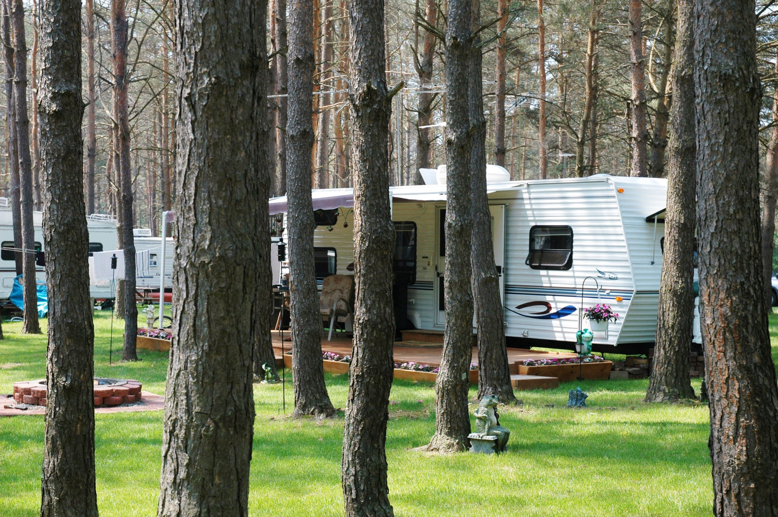 RV Hook Up Site - Seasonal