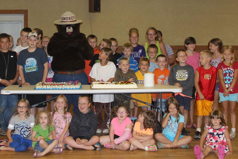 Smokey's Birthday Party - Lots of Kids