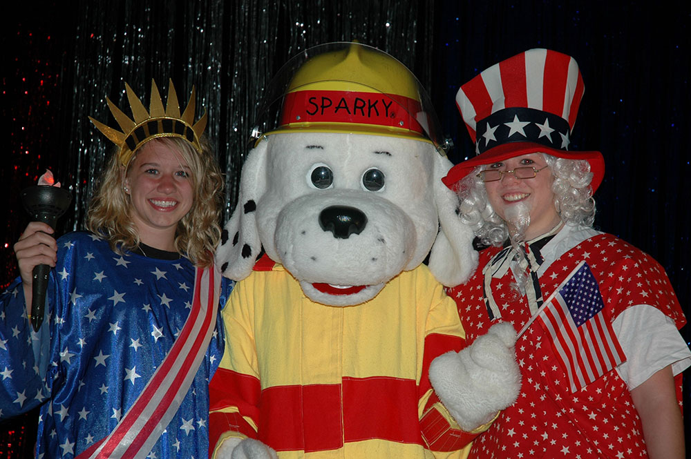 Sparky - July 4th Event