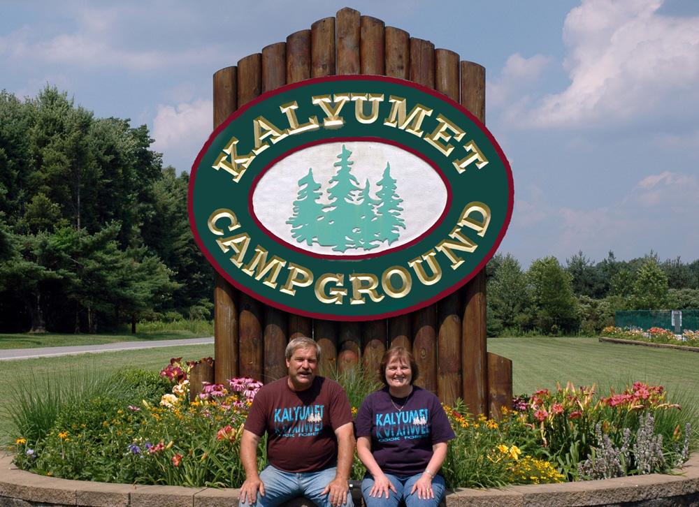 Kalyumet Campground Sign