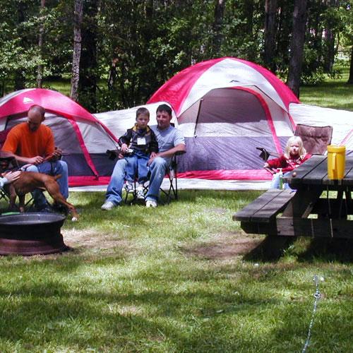 Primitive Tent Area - Kalyumet