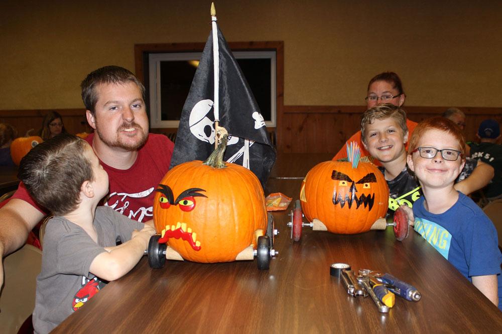 Guests Design Pumpkin Derby Entries